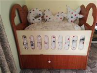 تخت خواب طفلانه