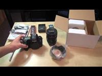 Canon EOS 6D DSLR with f / 4L lens 24-105mm