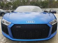 AUDI R8 2018 AVAILABLE