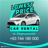 Lowest Price Car Rental in Afghanistan