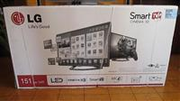 LG  60 inches Cinema 3D Smart tv
