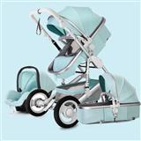 new Baby Stroller 3 in 1 travel system Bassinet tr