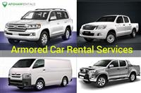 Armored Car Rentals Services in Afghanistan
