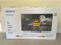 SONY BRAVIA KD Smart 4K Ultra HD HDR LED TV Black