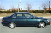 Corolla 1997 Dark Green