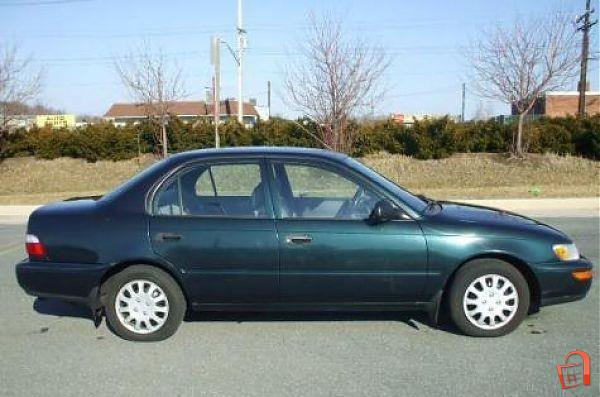 leelam ad corolla 1997 dark green for sale kabul vehicles rh leelam af toyota corolla 1997 repair manual pdf toyota corolla 1997 repair manual free