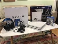 new PS4 Pro 1TB console with free games $150