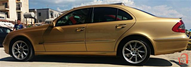MERCEDES BENZ E200 EVO GOLD W211 -09